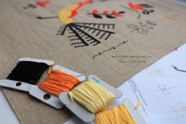 Процессы вышивки крестом Блог Вся палитра впечатлений