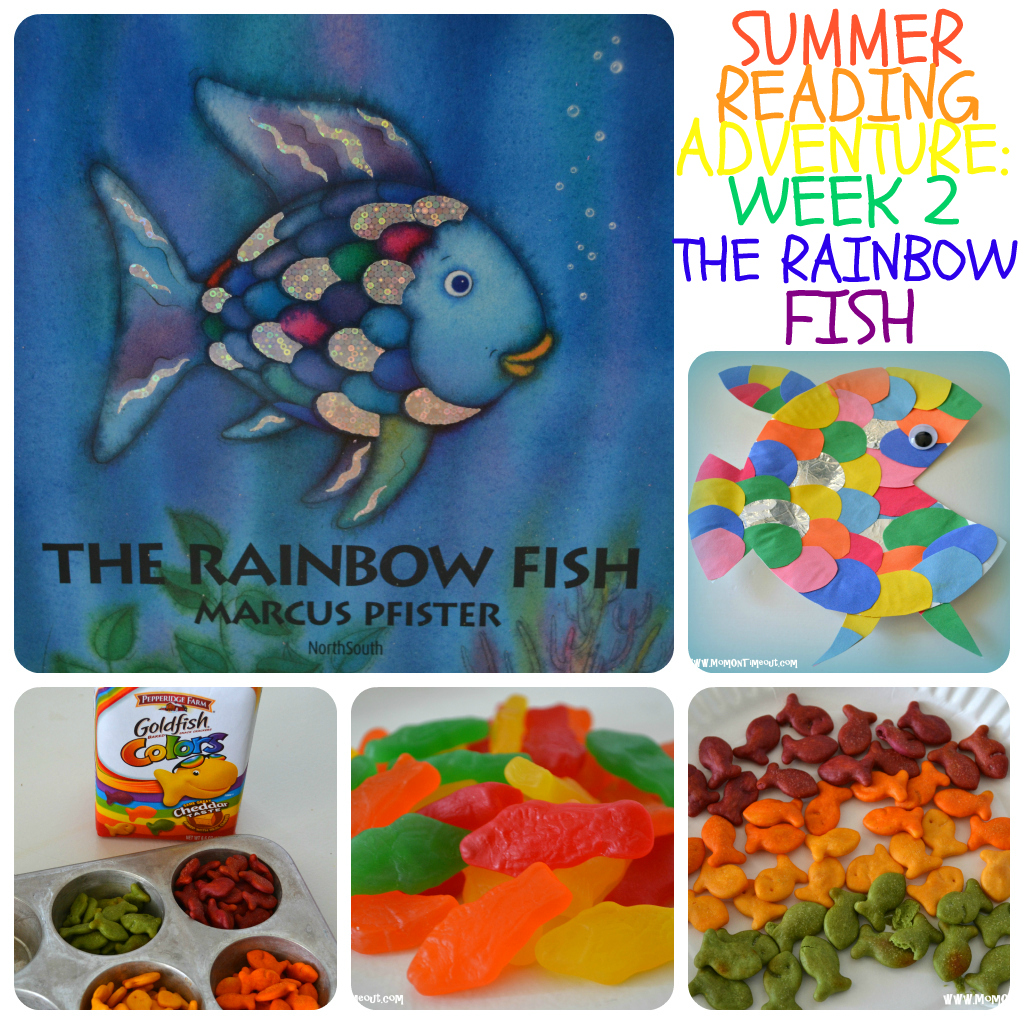 Rainbow Fish Book Halloween Craft Ideas For Toddlers