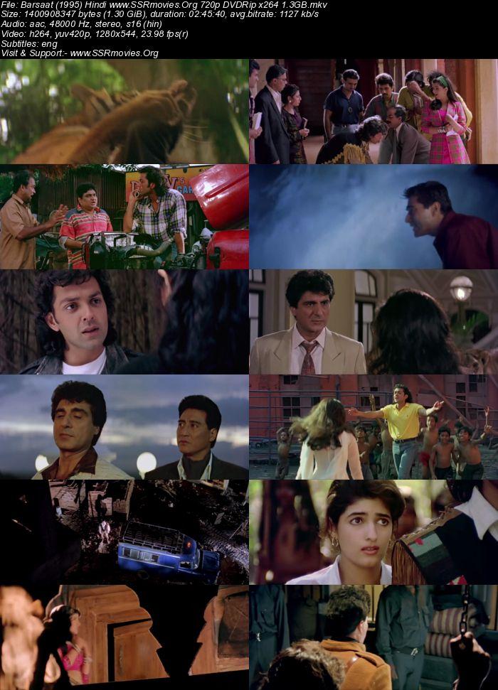 Barsaat (1995) Hindi 720p DVDRip x264