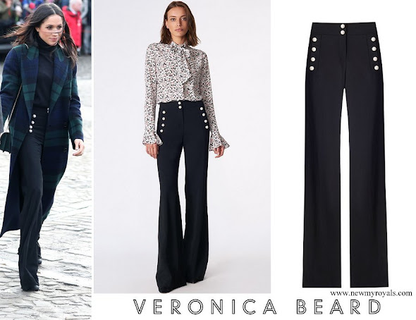 Meghan Markle wore Veronica Beard Adley Pants