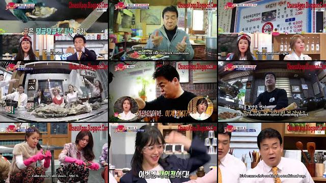 Baek Jong-won's Top 3 Chefs Ep70 Eng Sub - AOA's Choa&Mina