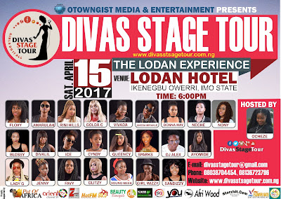 Lodan Experience: Ladies Take The Stage As Divas Stage Tour …Resurrects for 2017