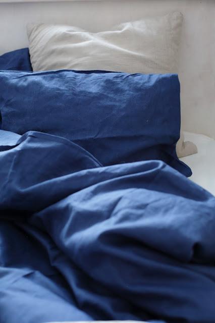 siniset pellavalakanat