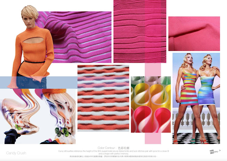 Fashion Vignette Trends Spin Expo Color And