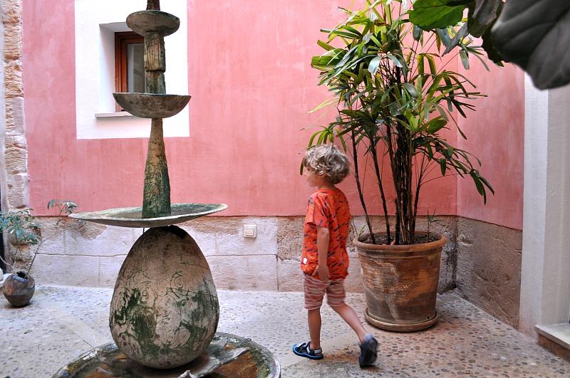 Atrium at the Hotel Palau Sa Font