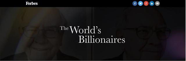 موقع فوربس يقدم لك قائمة مليارديرات العالم | تعرف عليه الأن