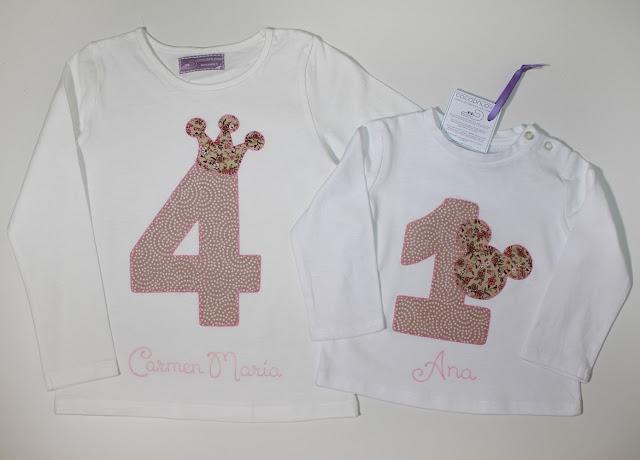 camisetas de cumpleaños para hermanas