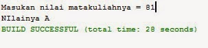 Source Code Java Netbeans Kondisional IF Else IF