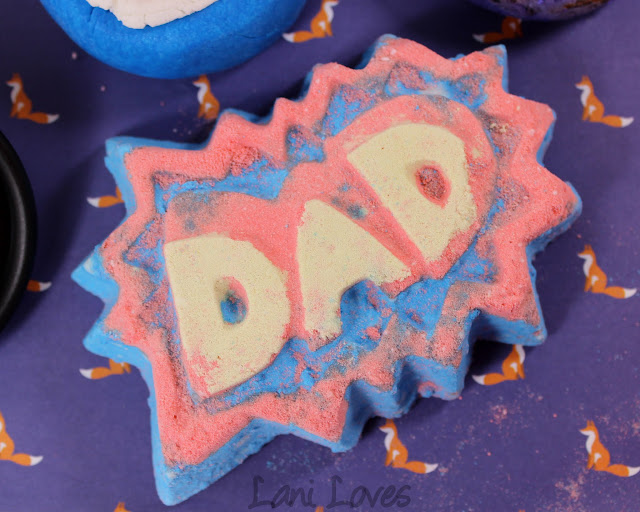 LUSH Superdad bath bomb review