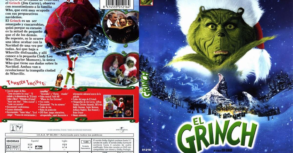 Fondos Para Pantallas De Grinch Para Navidad: Imagenes: Caratula DVD De