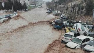 Banjir Bandang di Negara Syiah Iran, 19 Orang Tewas dan 119 Luka-luka