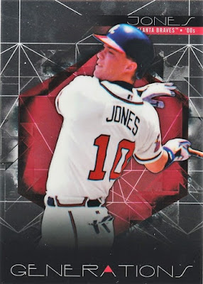 2015 Finest Generations #FG08 Chipper Jones