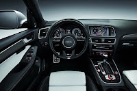 2017 next Audi A7 test performance interior dashboard view