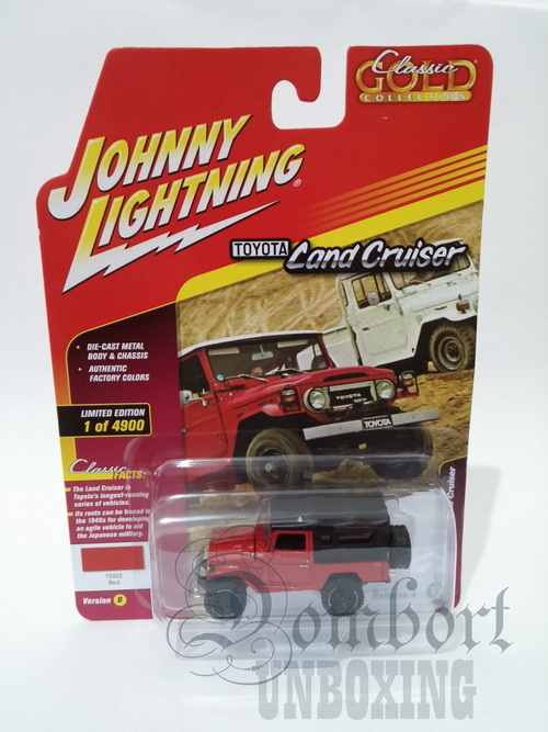 Diecast Johnny Lightning Jeep Hardtop