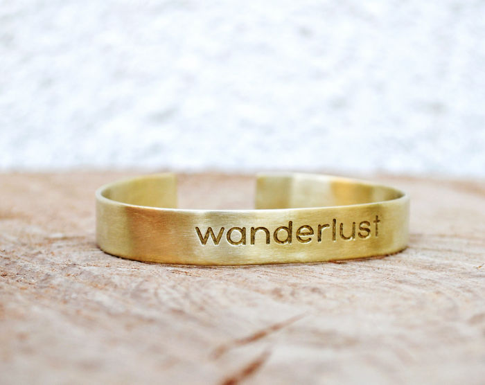 15+ Of The Best Traveler Gift Ideas Besides Actual Plane Tickets - Wanderlust Bracelet