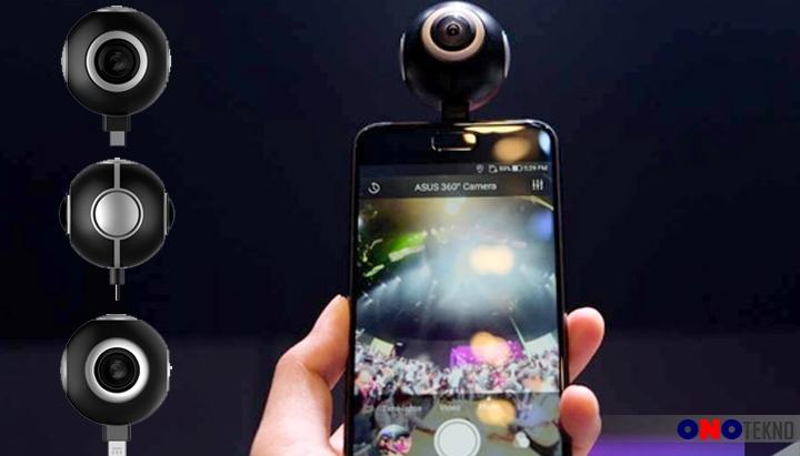 Asus Hadirkan Perangkat Kamera 360°