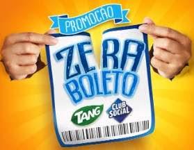 Promoção Club Social e Tang Zera Boleto - Participar, Prêmios