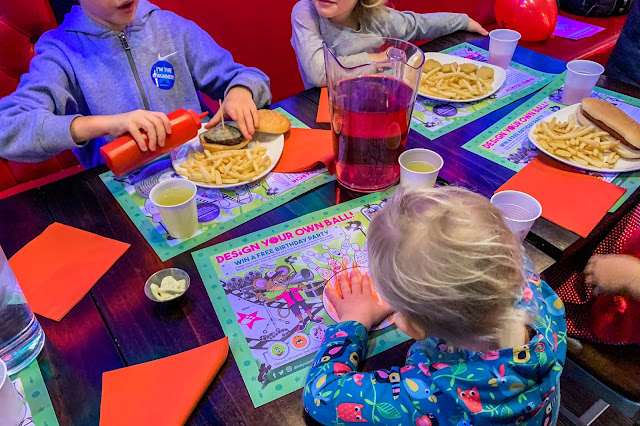 The kids party food seemed popular at Hollywood Bowl review