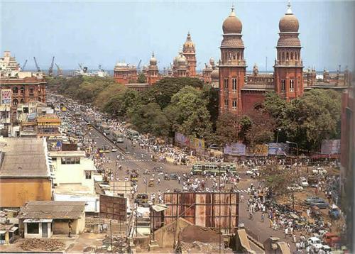 Chennai-India-Tamil-Nadu-Madras-George-city