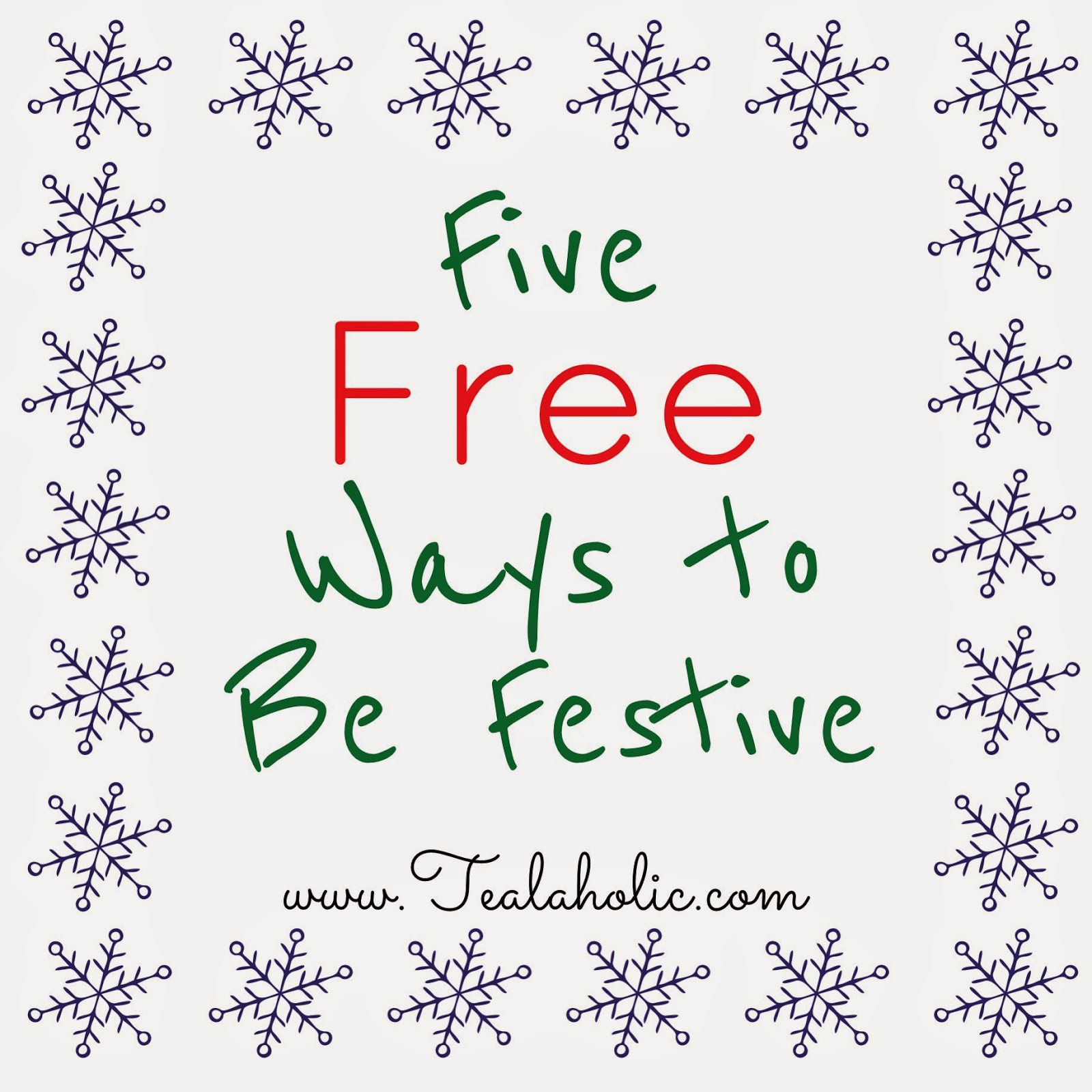Five Free Ways to Be Festive (in November)