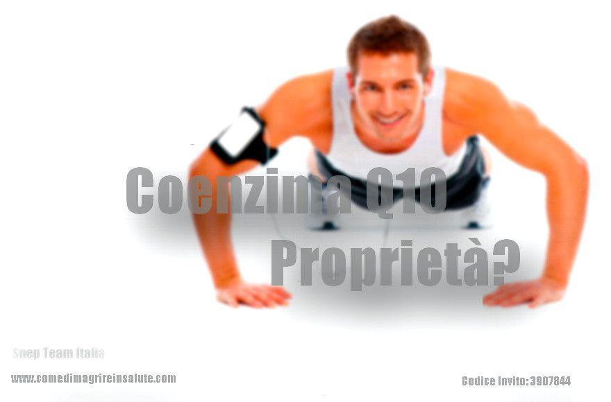 Coenzima q10 proprietà