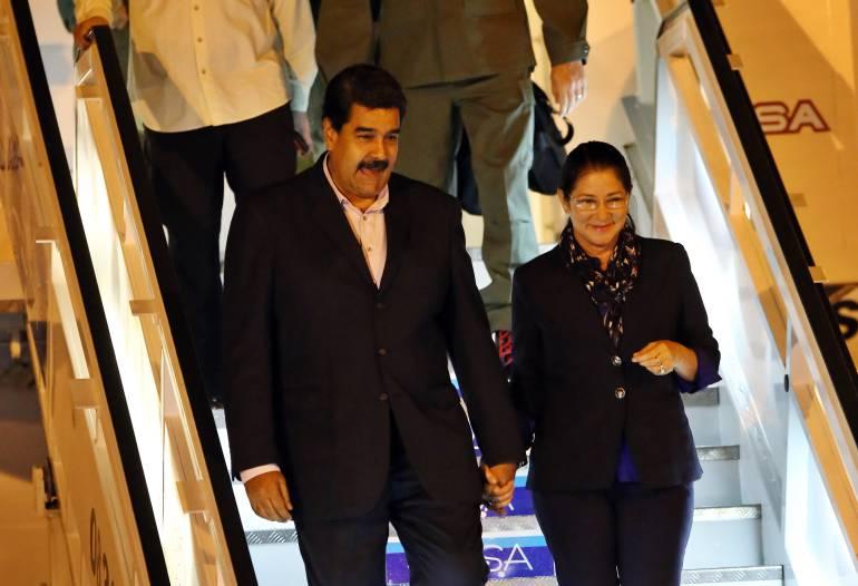 Maduro y Ban Ki-moon llegan a Cuba
