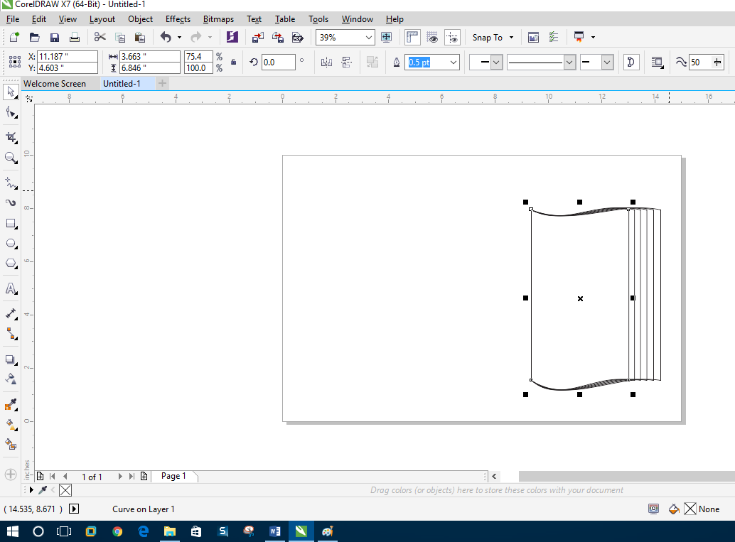 How To Make A Book In Coreldraw : How to create book shape with coreldraw expert