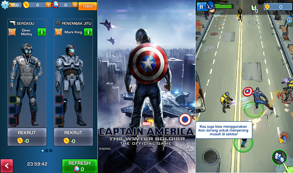 Download Captain America The Winter Soldier Apk Data Android Game