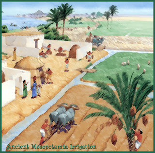 Organic Gardening Education - Irrigation Canals in Ancient Mesopotamia