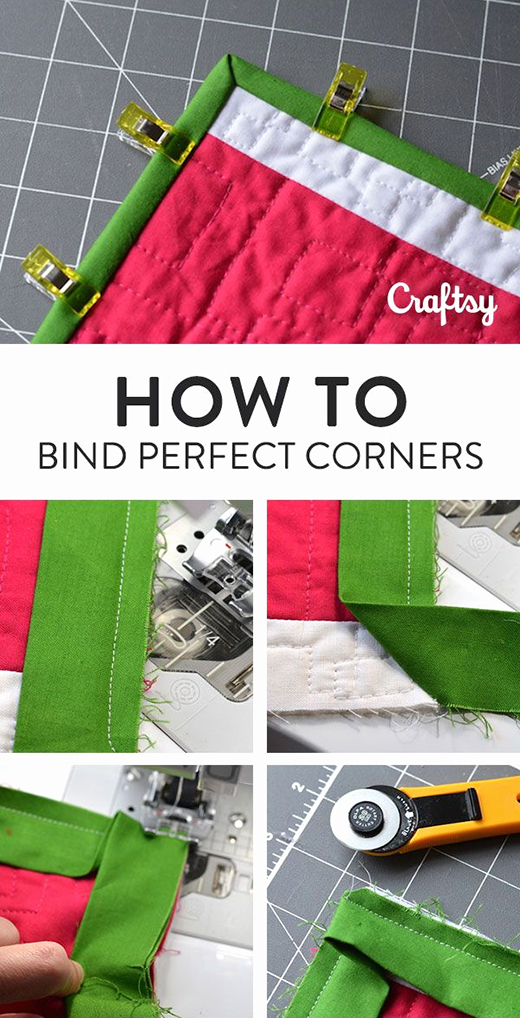 6 Easy Steps to Bind Quilts From Start to Finish!