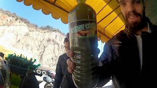 Energético para encarar os mais de 4.000 metros de altitude.