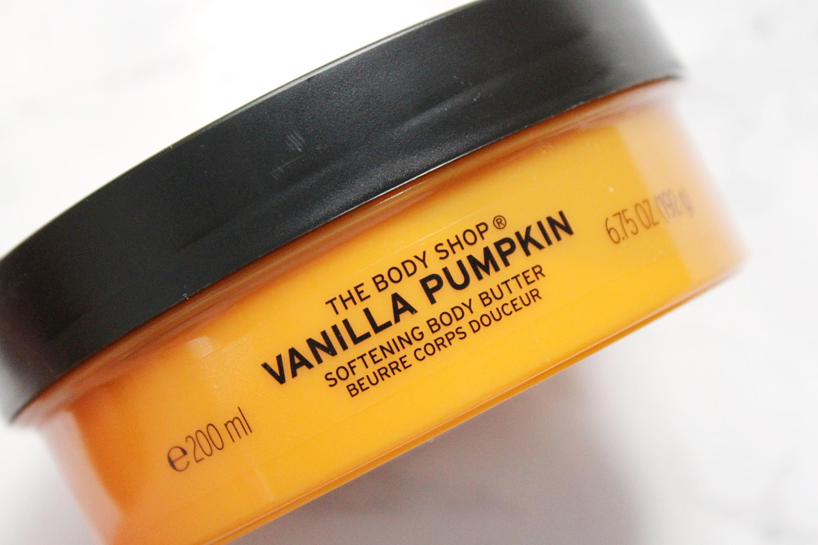 The Body Shop Pumpkin Vanilla Body Butter