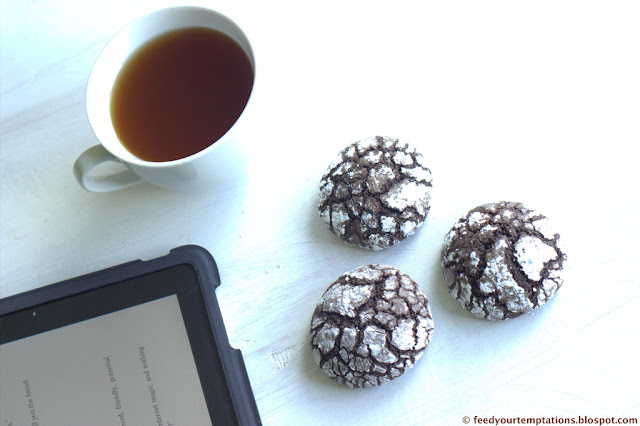 crinkle cookies, chocolate cookies, chocolate crinkle cookies recipe, best chocolate crinkle cookies