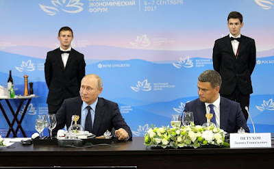 Vladimir Putin met with representatives of foreign business community.