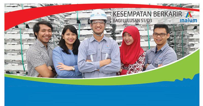 Rekrutmen Karyawan PT INALUM (Persero) Besar Besaran untuk S1/D3 2017