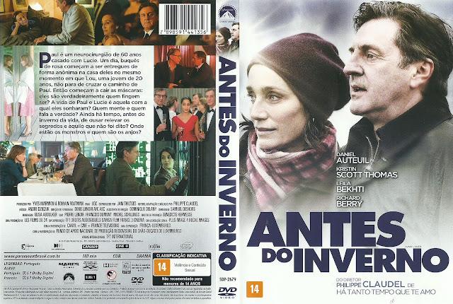 Capa DVD Antes do Inverno