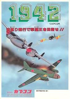 1942+arcade+game+portable+shootemup+retro+art+flyer