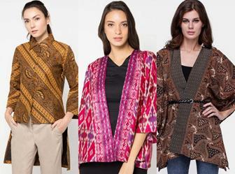 Inspirasi Baju Batik Atasan Lengan Panjang Untuk Wanita Modis Dan Elegan