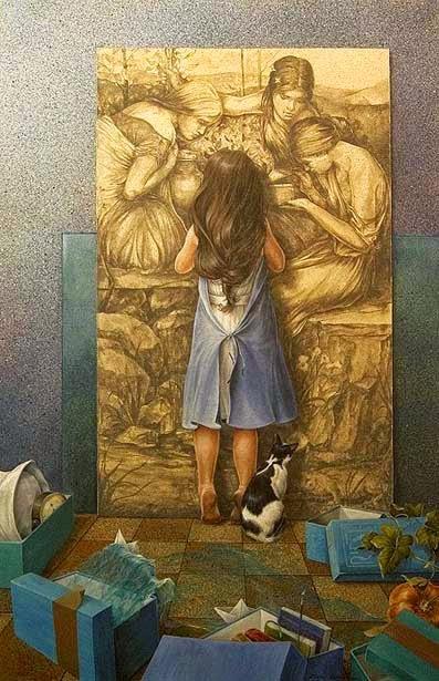 Curiosidade - Chelìn Sanjuan e todo encanto em suas pinturas ~ Pintor espanhol