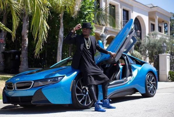 Diamond Platnumz One Of East Africas Biggest And Most Successful Stars Is Out Here Looking Like A Million Bucks After He Launched BMW I8 Similar To The