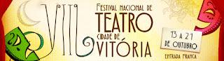 VIII Festival Nacional de Teatro em Vitória