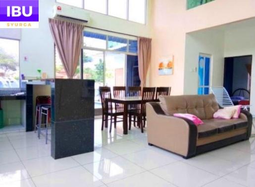 A Famosa Resort Hotel ruang tamu