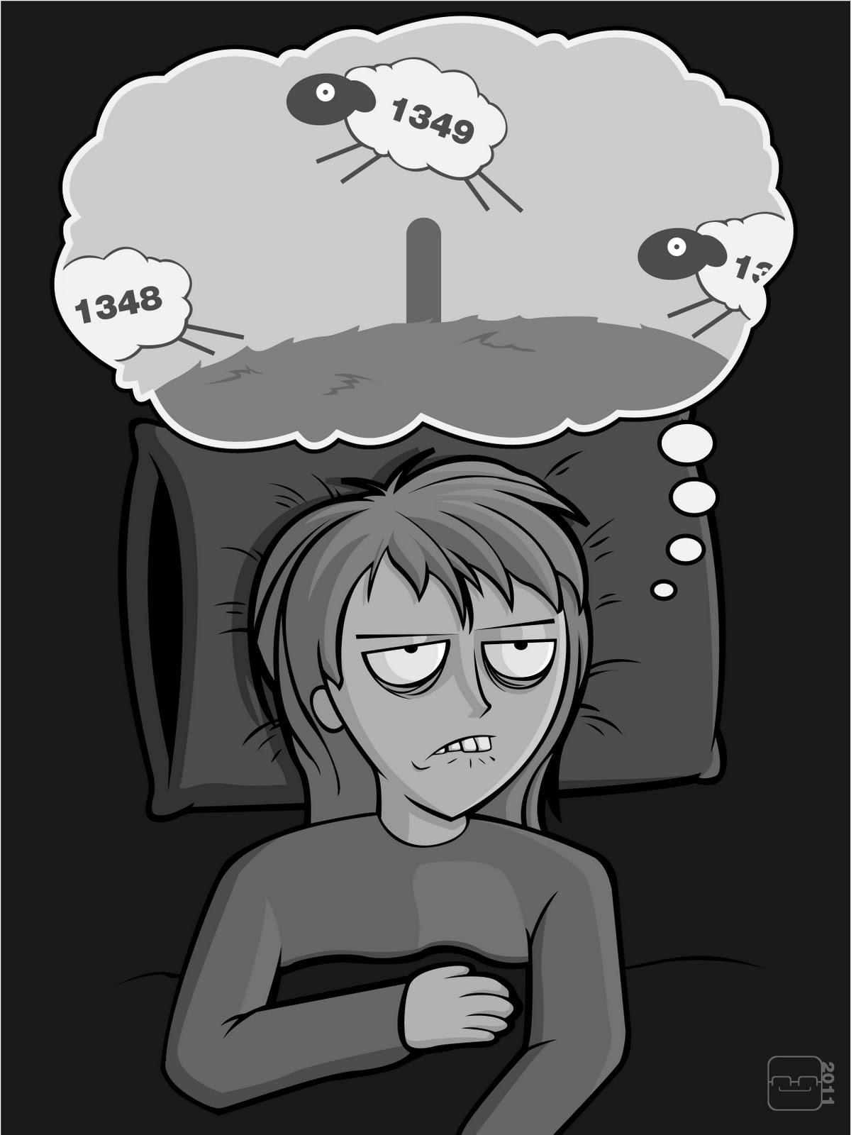 Kumpulan Gambar Lucu Insomnia Berat Ucapan Gambar