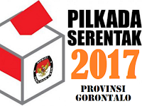 Nomor Urut Paslon Gubernur Pilkada Gorontalo 2017