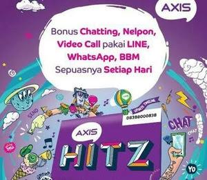 Kumpulan BUG Baru Axis Hitz OPOK Untuk Internet Gratis Tahun 2018