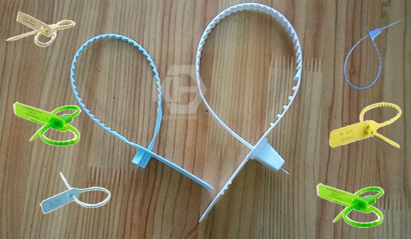 kẹp chì nhựa răng cưa ACME niêm phong đa dạng sản phẩm