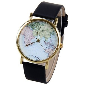 montres carte du monde