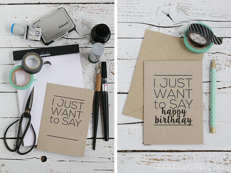 just want to say hello card printable