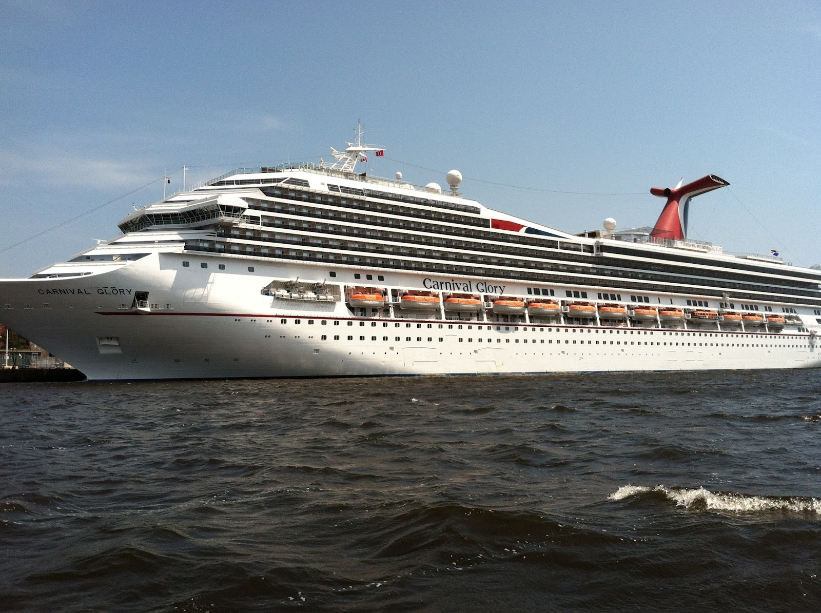 Ray's Cruise & Travel Blog: Carnival Glory
