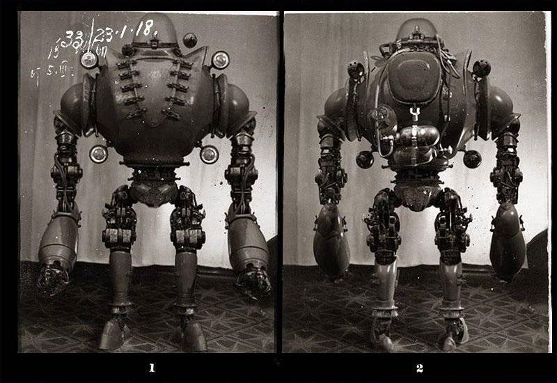 cho gan robot 6